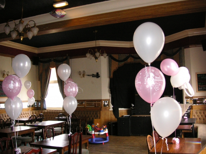 The Big Balloon Company : Leigh, Lancashire, Christening Balloons