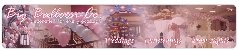 the big balloon company, Wedding Decor Lancashire