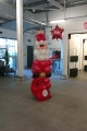 Balloon Santa for Tesco