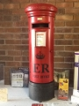 Pillar Box in Red