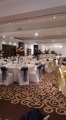 Mix of black and gold organza, Thistle hotel haydock