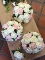 Hand tied bouquet artificial flowers