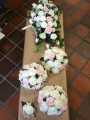 Bouquets and button hole artificial flowers