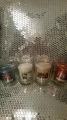 Yankee candle complete with glass holder, organza bag and personalisation. £3.29