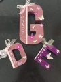 Large and small personalised initial